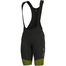 Alé Cycling PRS Master Bib Shorts Herre black-yellow flou